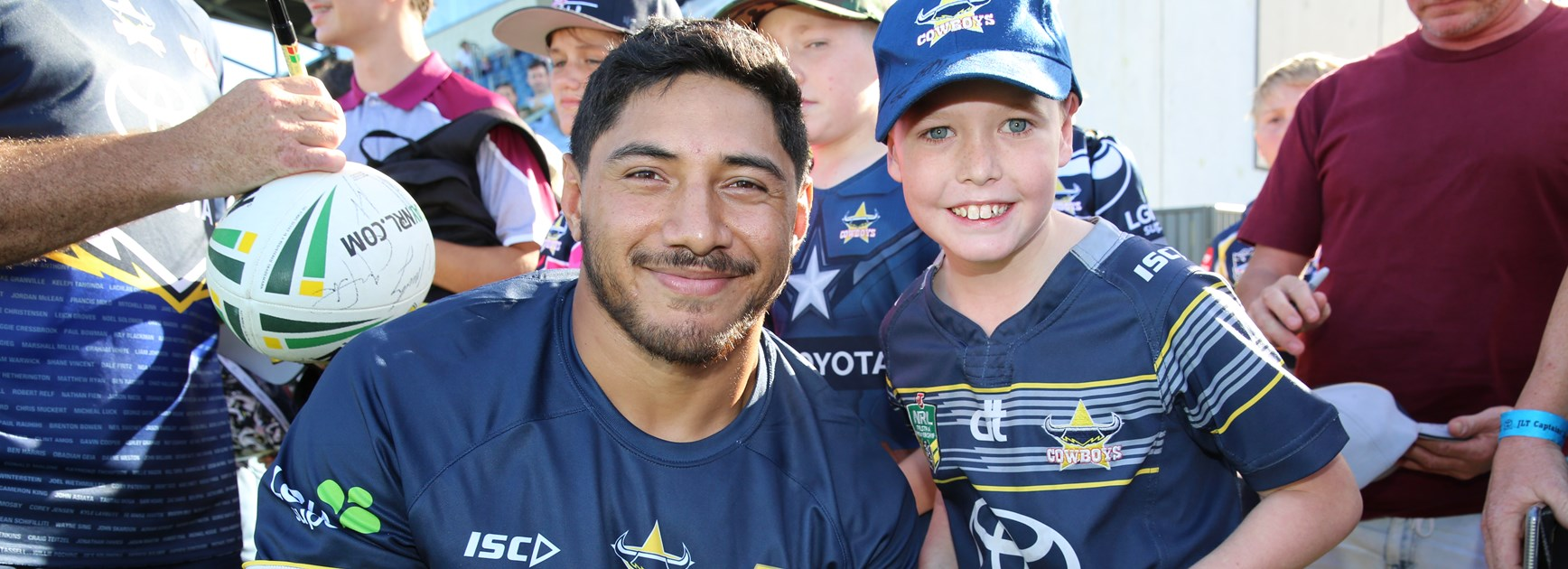 Mackay open training session: Fri 1 March
