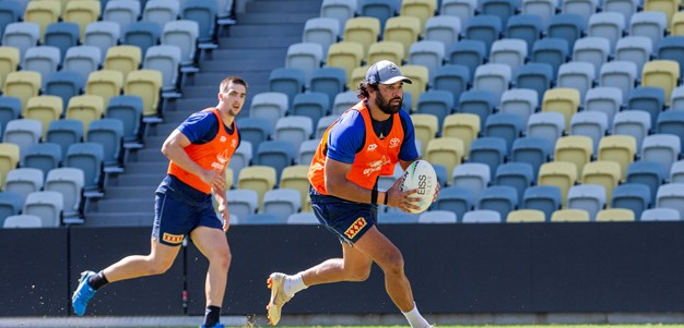 Cowboys training: Round 4 v Sharks