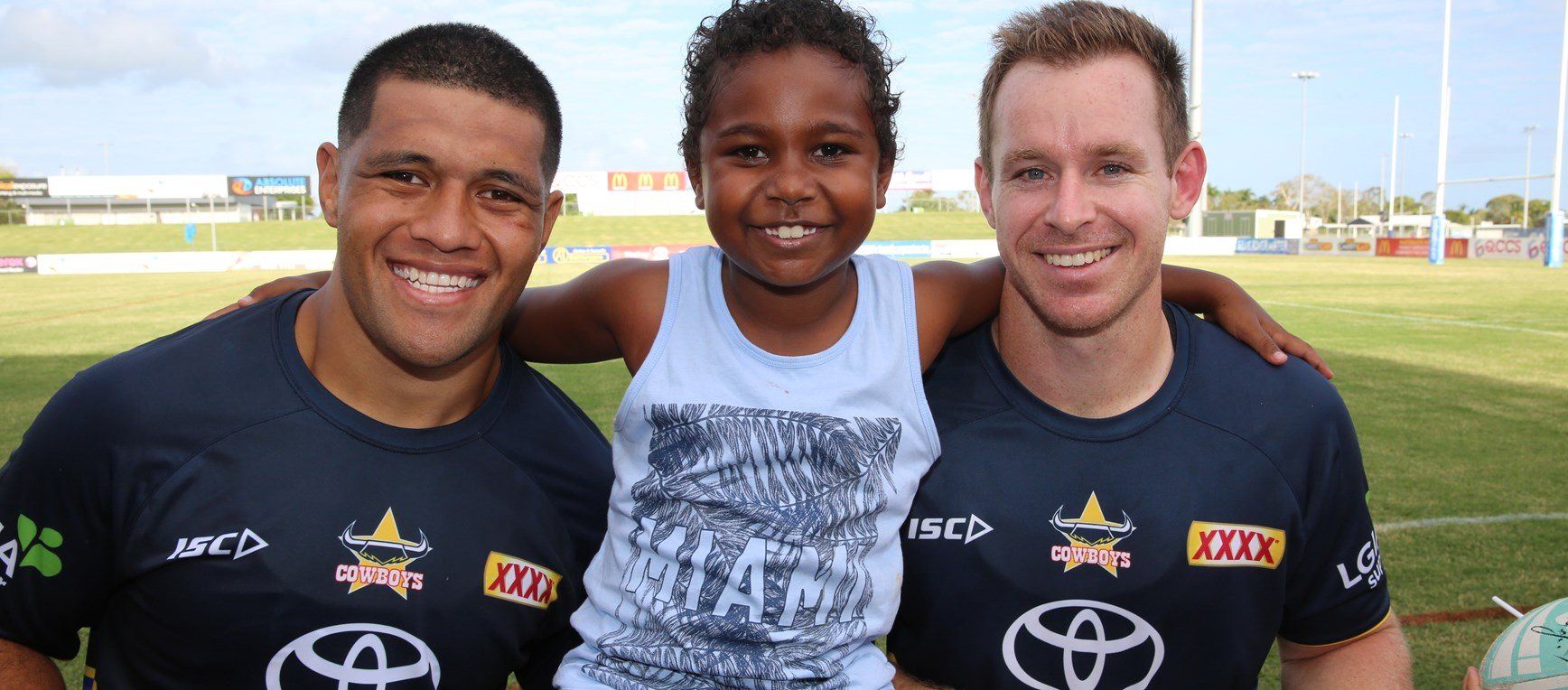 Cowboys open training session in Mackay