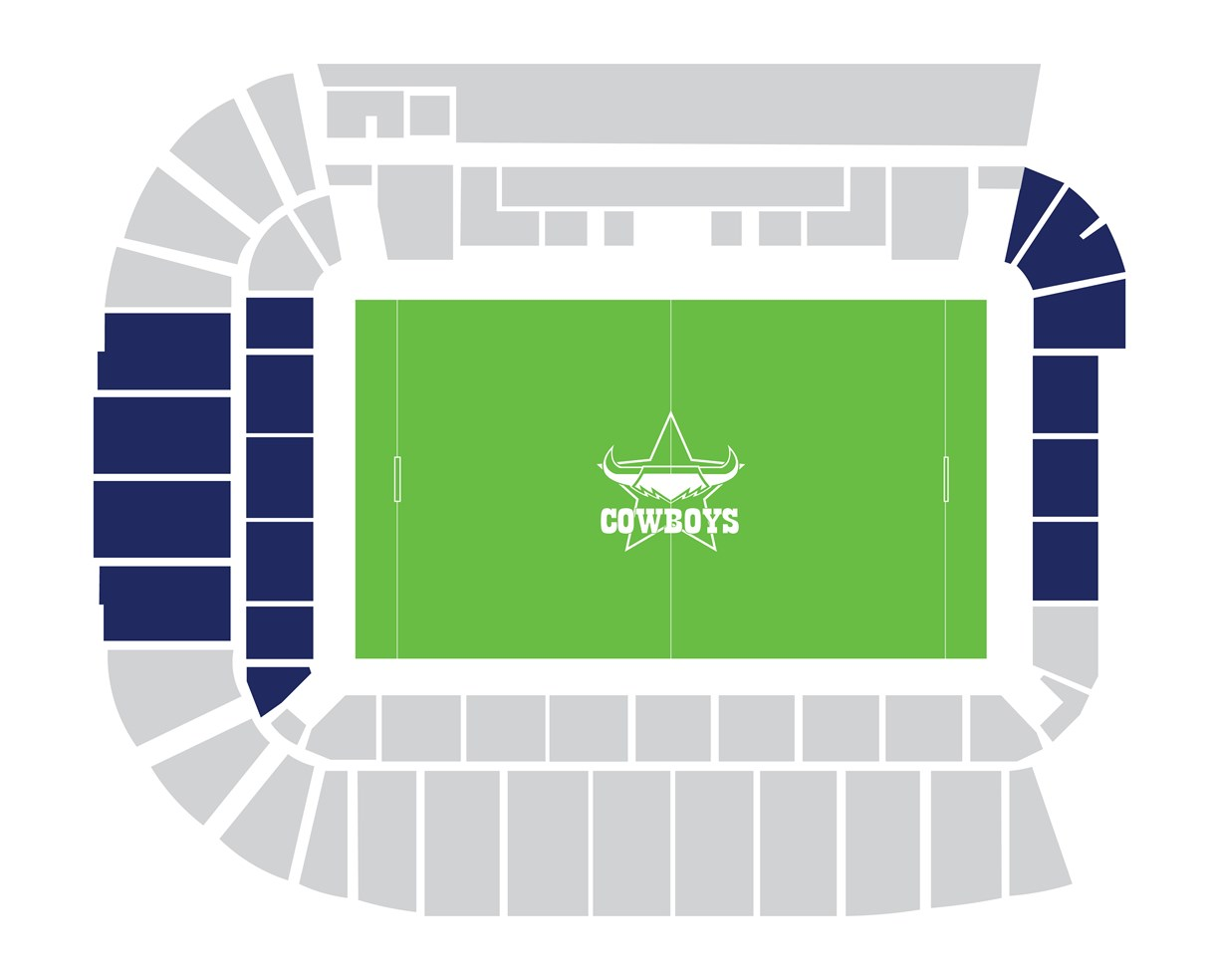 Tier 1: Northern Corner Seats, Northern Lower Seats & Southern Grandstand Seats
