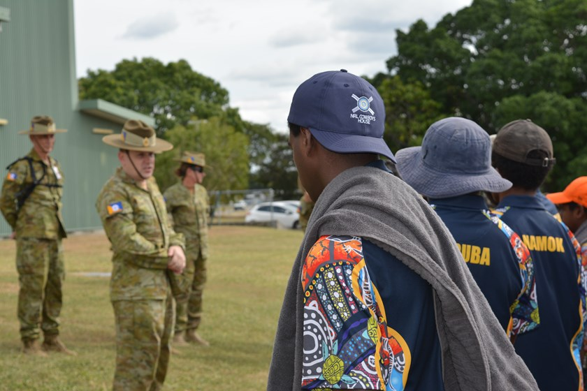 Sources of support: 151 ACU Cowboys House formed under community-based youth development organisation Australian Army Cadets.