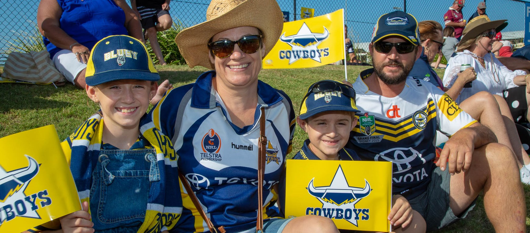 Fan gallery: Trial v Titans