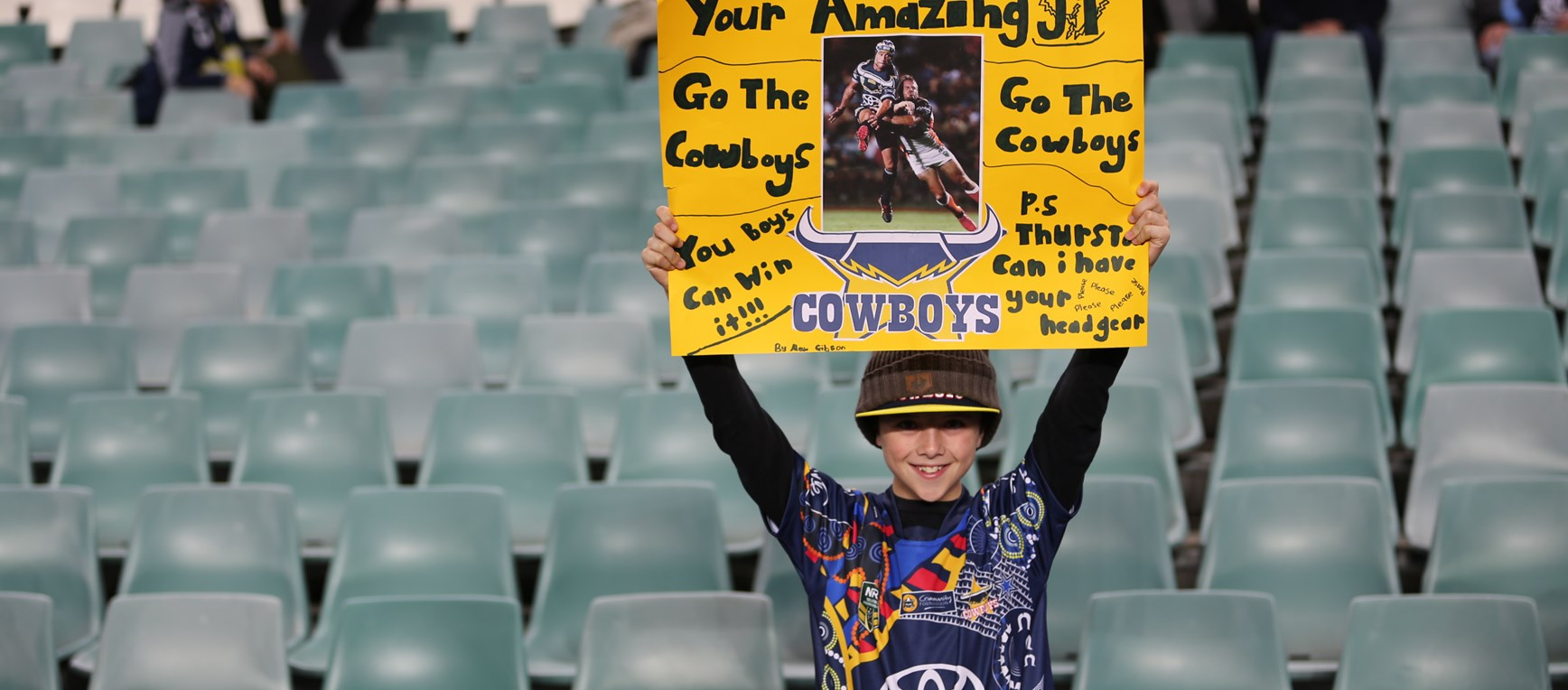 Fan Gallery: Cowboys v Roosters