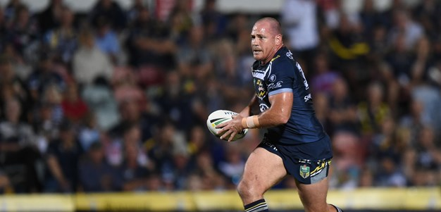 Late try seals Cowboys' comeback win over Knights