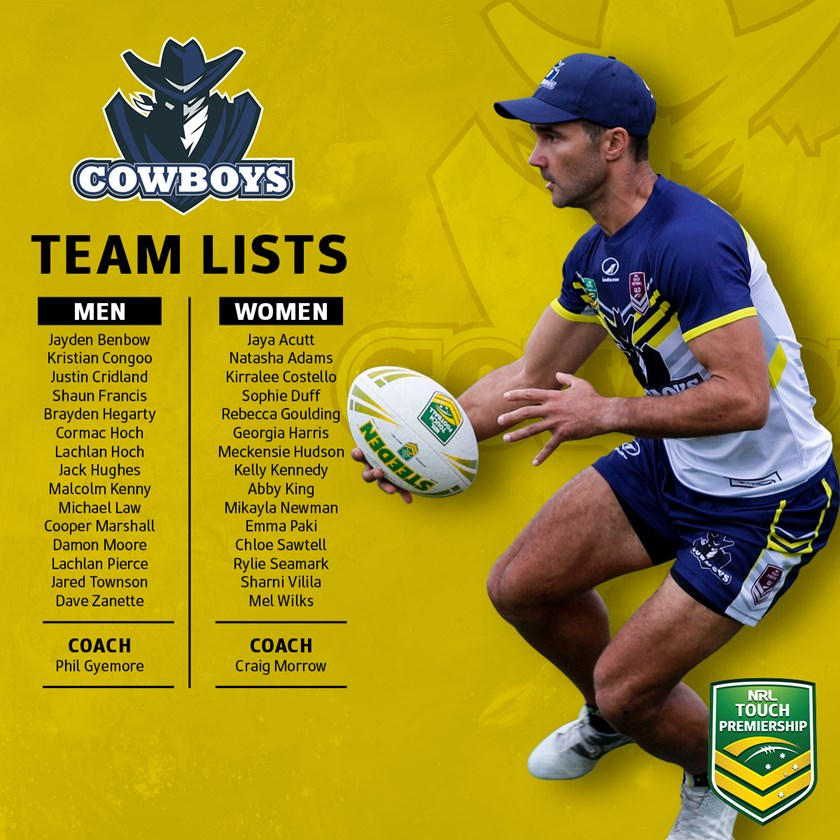 2019 Cowboys Touch Squads Announced Cowboys
