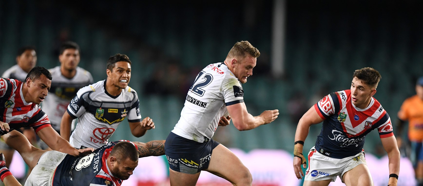 GALLERY: Cowboys v Roosters