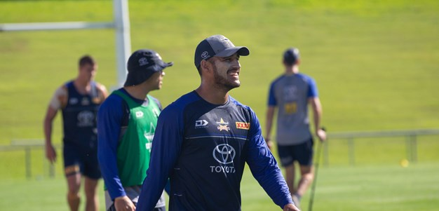 Cowboys Training: Trial v Broncos