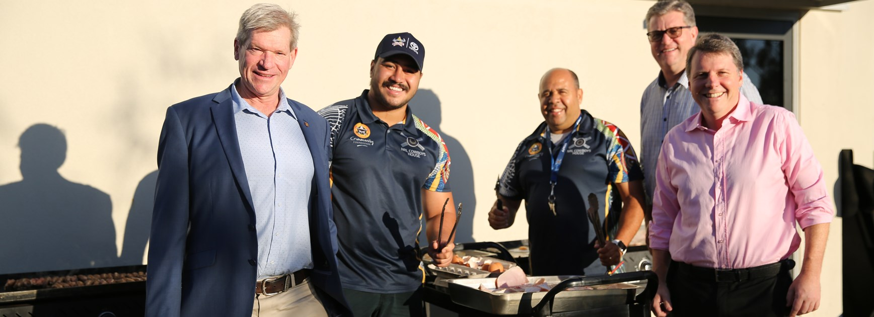 NRL Cowboys House hosts Parliament