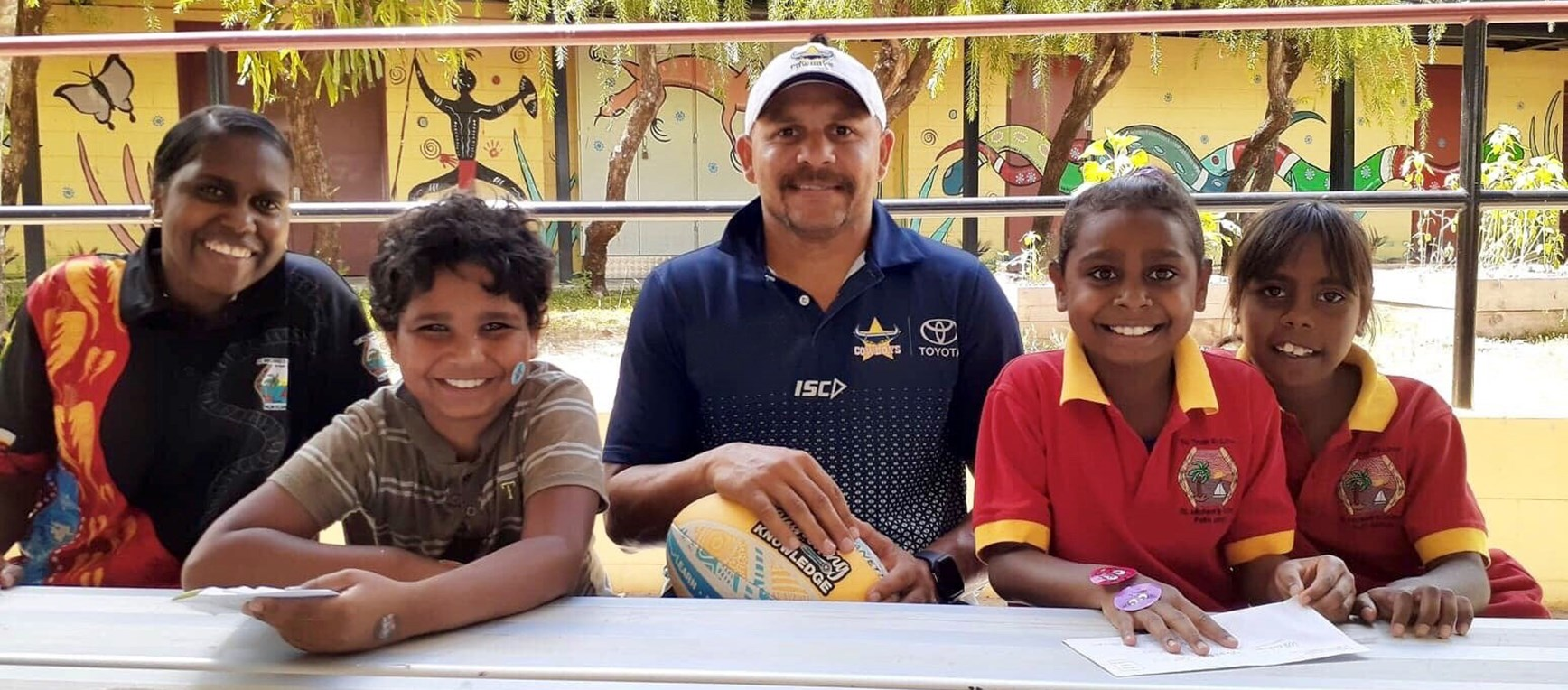 Palm Island have a ball with Adopt-a-School!
