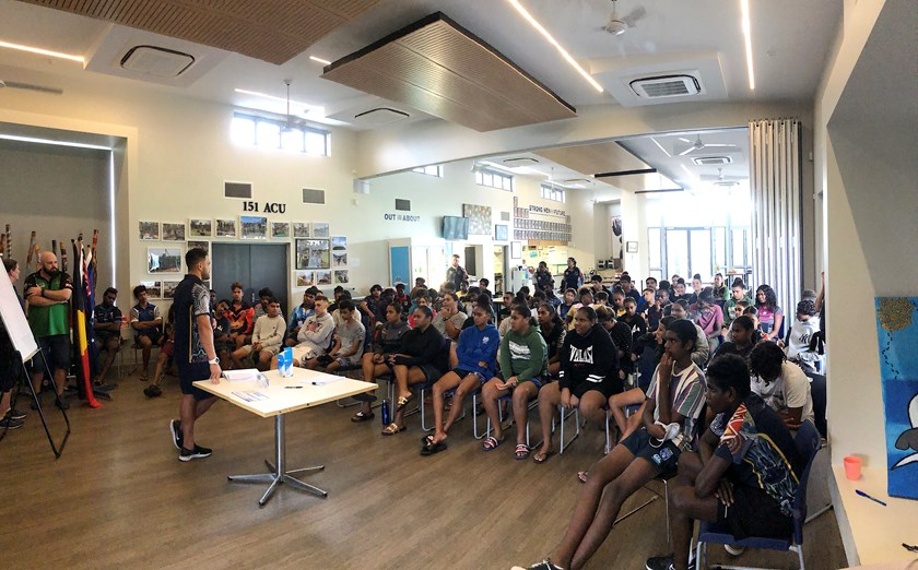 2020 Orientation Day, NRL Cowboys House