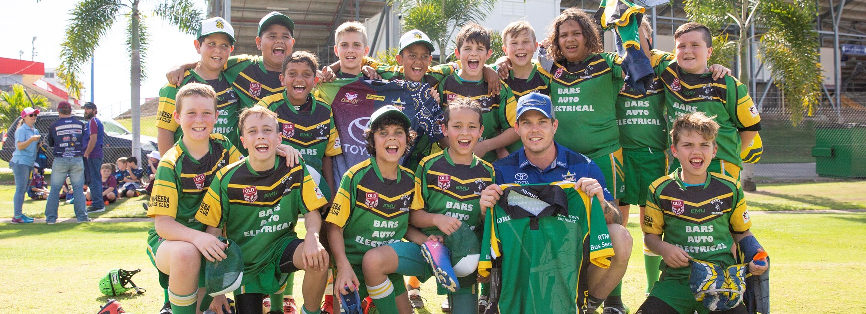 Cowboys give back to their junior clubs