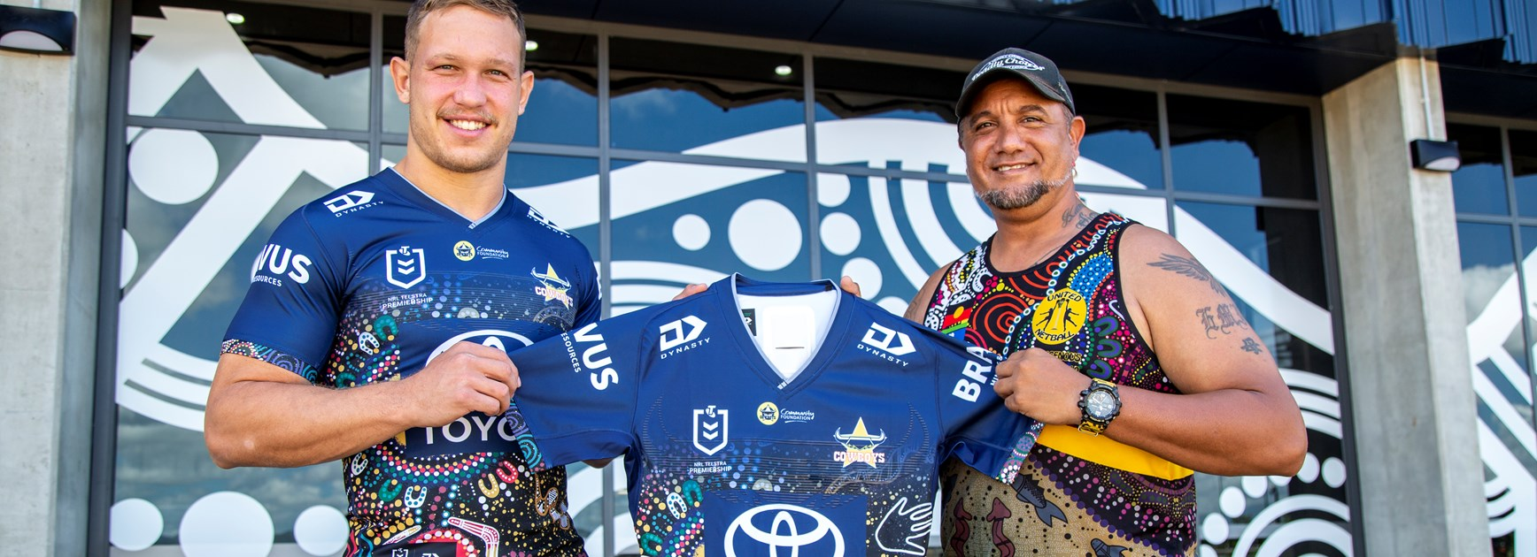 Indigenous jersey design promoting unity