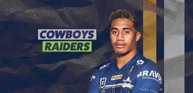 Cowboys team list: Round 7 v Raiders