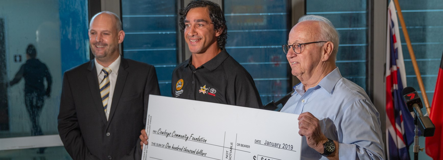 Generous boost for Cowboys Community Foundation
