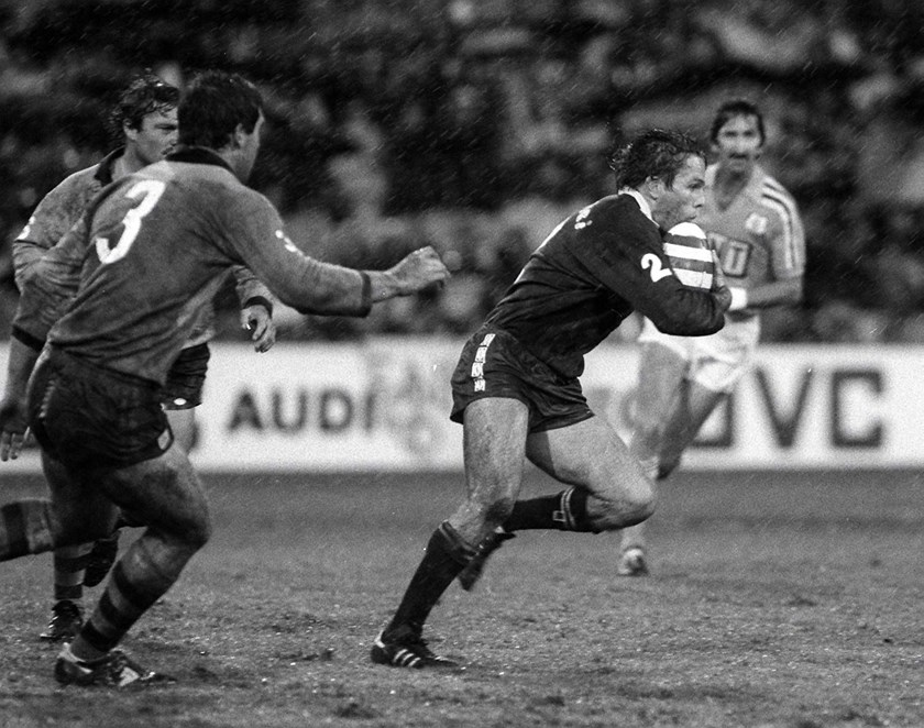 Kerry Boustead playing for Queensland in 1984.
