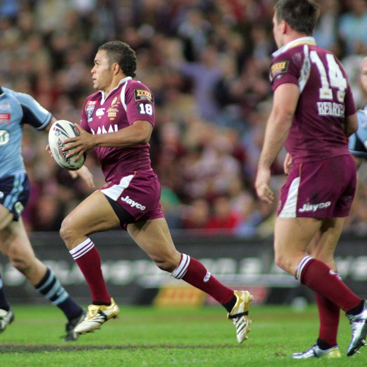 Seven former Cowboys named in Deadly Maroons 40-year Origin team