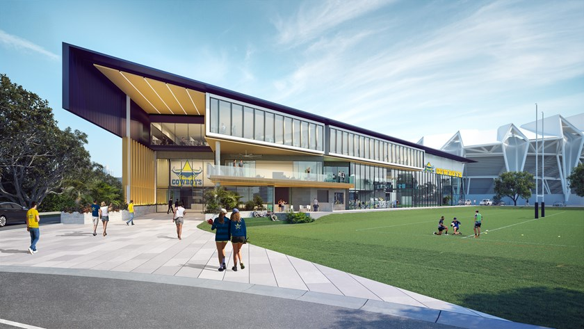 Artist's impression of the Community, Training and High Performance Centre – courtesy of Tippett Schrock Architects
