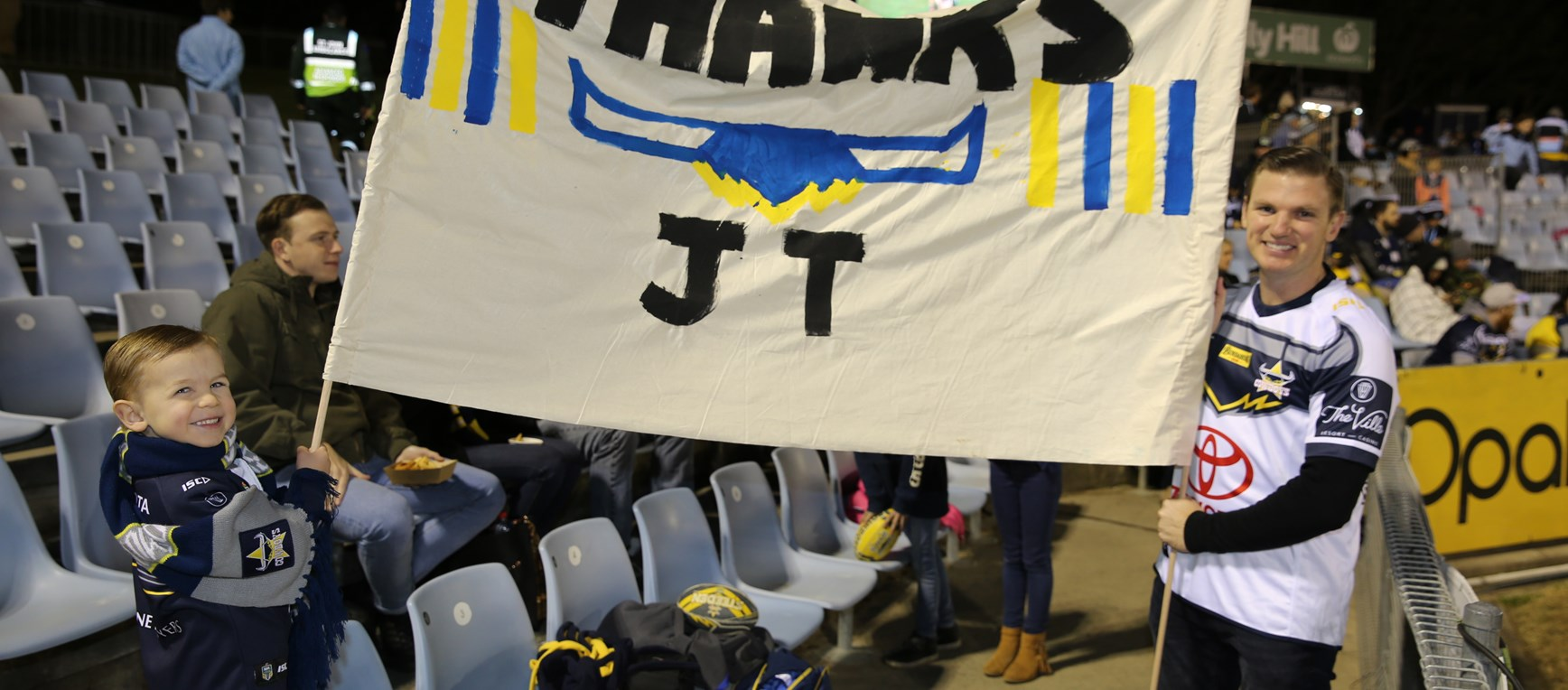 Fan Gallery: Cowboys v Sharks