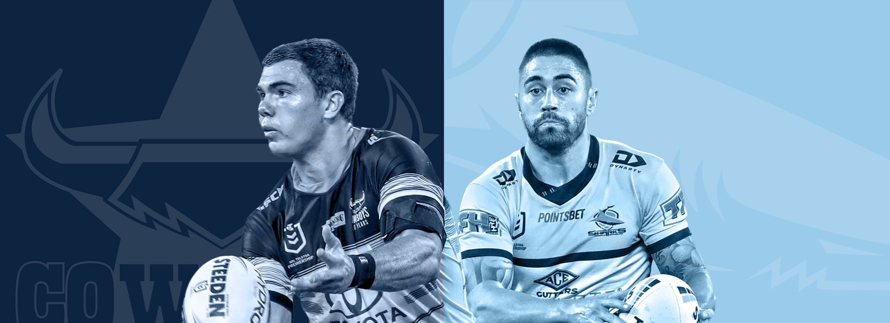 Cowboys v Sharks: Cronulla duo in doubtful