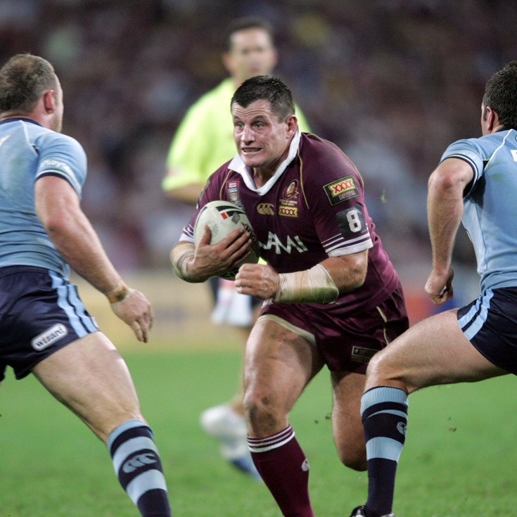NRL.com name best 17 of Maroons one-gamers