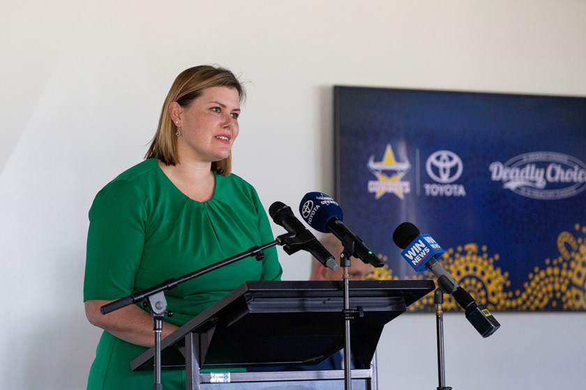 Assistant Minister for Health Nikki Boyd