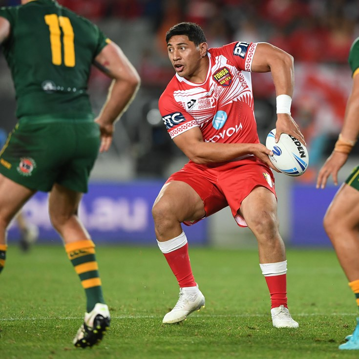 HIGHLIGHTS: Taumalolo helps Tonga to historic victory