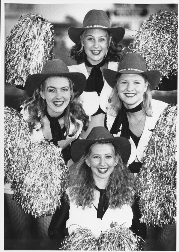 The North Queensland Cowgirls in 1995