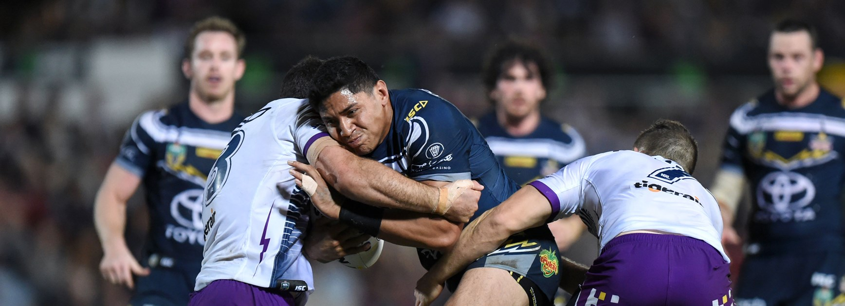 Cowboys to battle Storm in NQ trial
