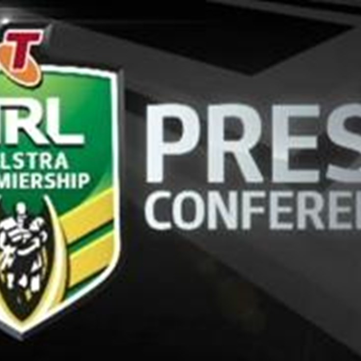 Sharks V Cowboys Rd 25 (Press Conference)