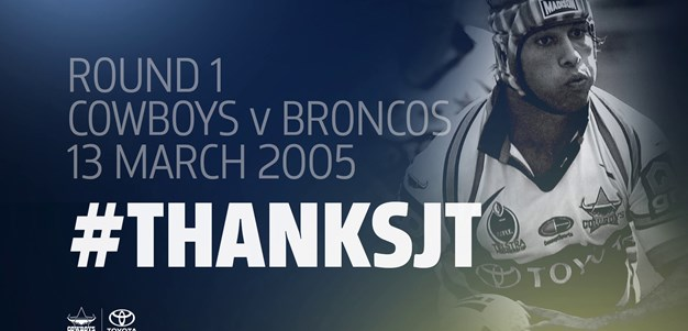 #ThanksJT: Cowboys debut