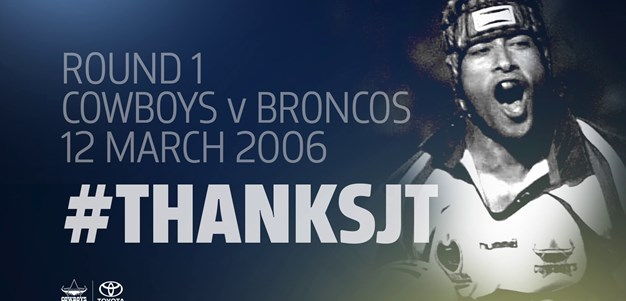 #ThanksJT: 2006 season opener