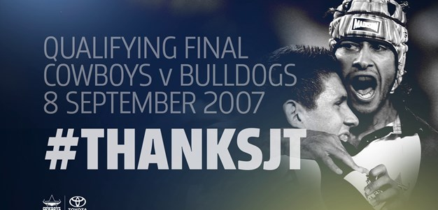 #ThanksJT: 2007 qualifying final