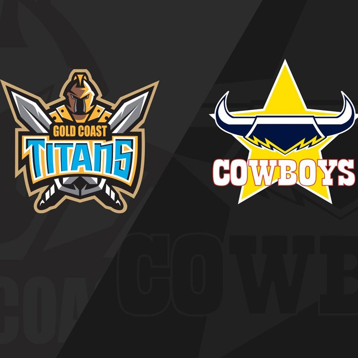 Full Match Replay: Titans v Cowboys