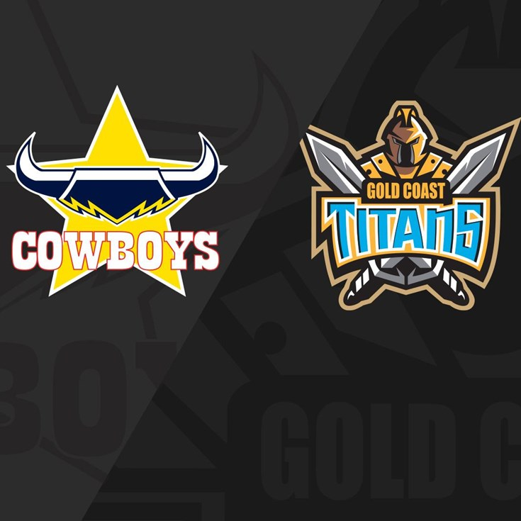 Full match replay: RD07 Cowboys v Titans