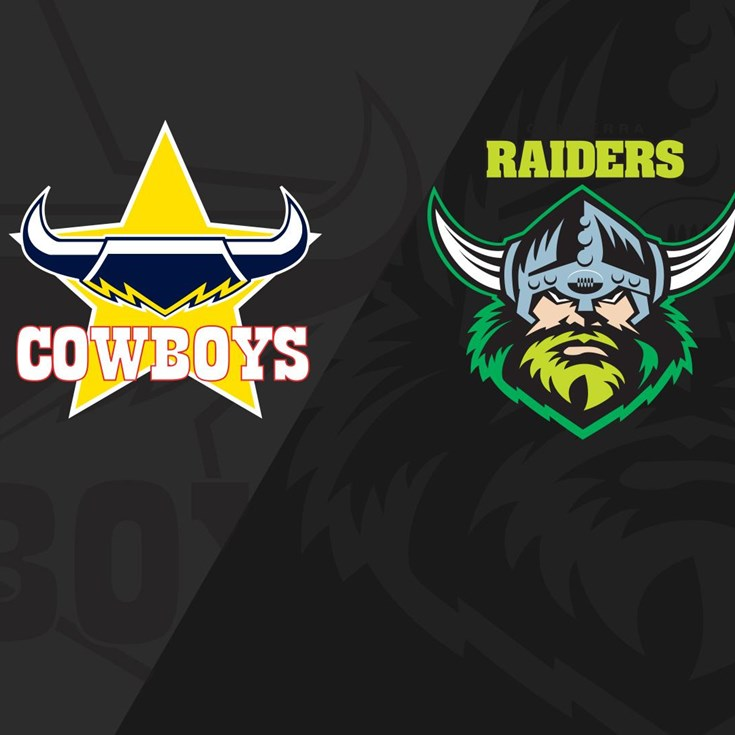 Full Match Replay: RD08 Cowboys v Raiders