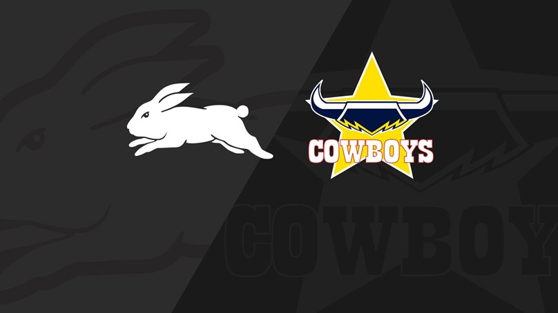 Full match replay: Cowboys v Rabbitohs - Rd 16, 2018