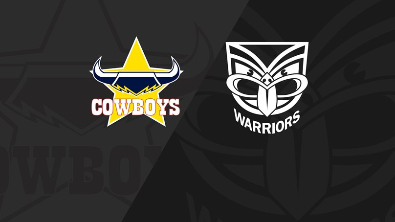 Full Match Replay: Cowboys v Warriors - Round 15, 2018