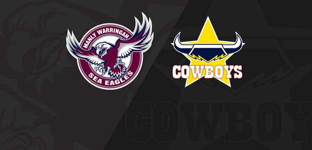 Full match replay: Rd 13 Cowboys v Manly