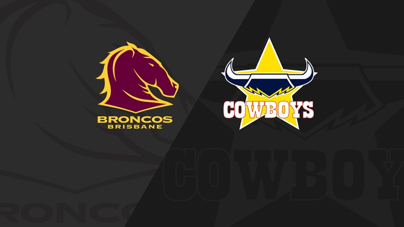Full Match Replay: Broncos v Cowboys - Grand Final, 2015