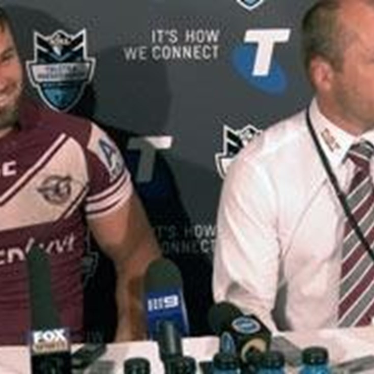 Sea Eagles Semi Final Press Conference
