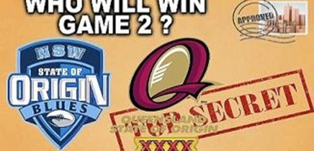 Who will win Origin 2?