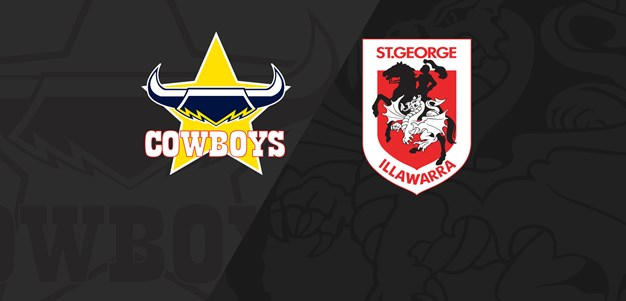 Full Match Replay: Cowboys v Dragons - Round 1, 2019