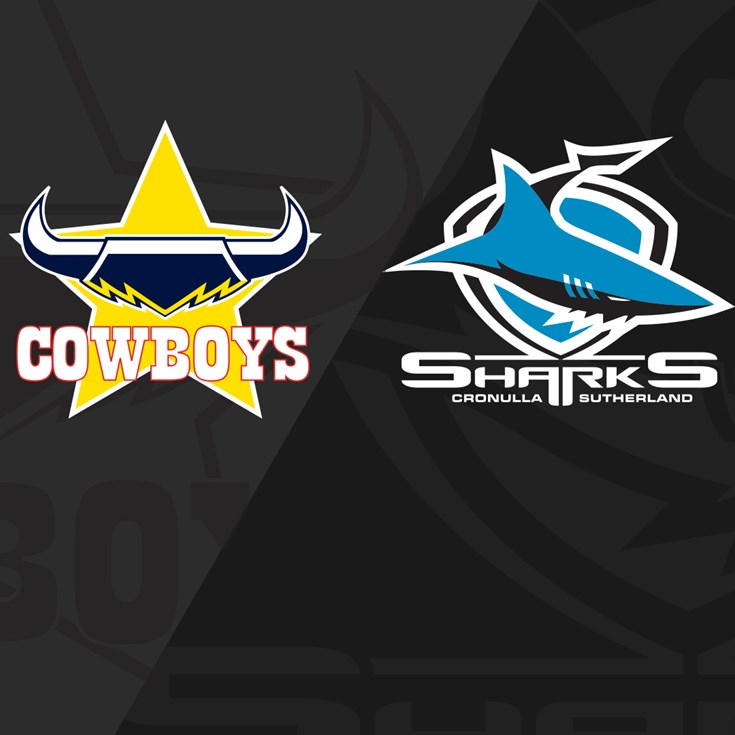 Full Match Replay: Cowboys v Sharks - Round 3, 2019