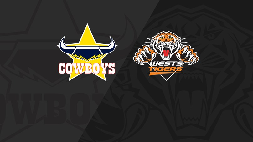 Full Match Replay: Cowboys v Wests Tigers - Round 14, 2019