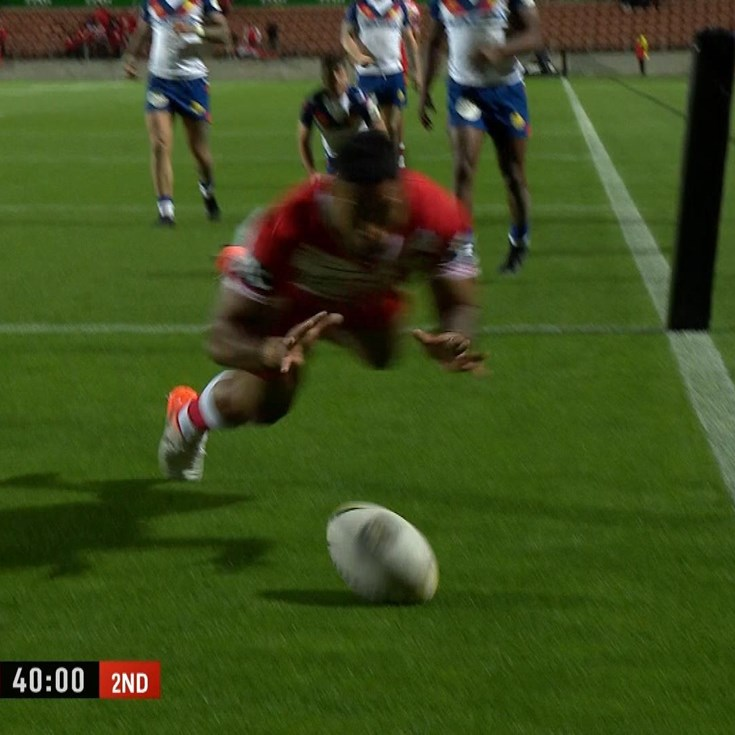 Asiata plays part in 13-pass try of the year candidate