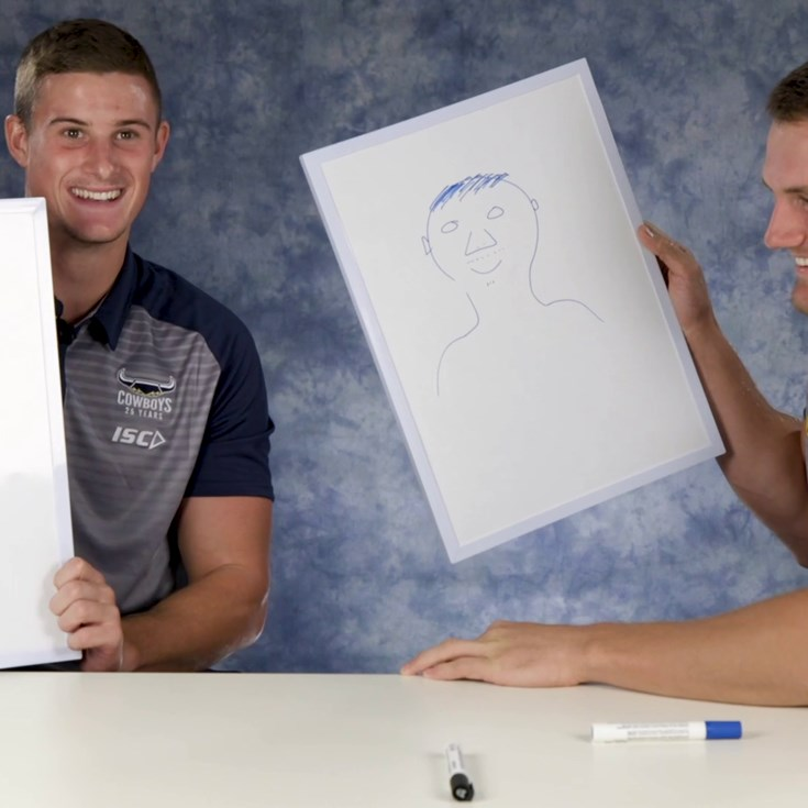 Can you draw your Cowboys' teammate?: Part 1