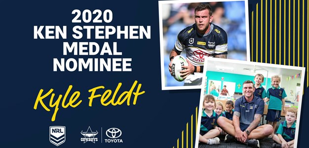 Vote 1 Kyle Feldt for Ken Stephen Medal