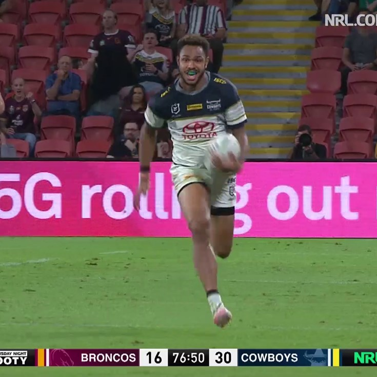 Oh what a feeling: Holmes, Tabuai-Fidow combine for length of the field try
