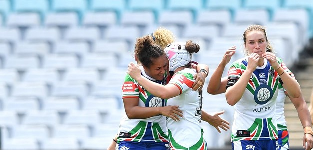 Gold Stars' Power creates Warriors NRLW history