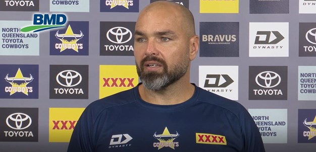 Payten on Cotter's injury, our bench & the Raiders